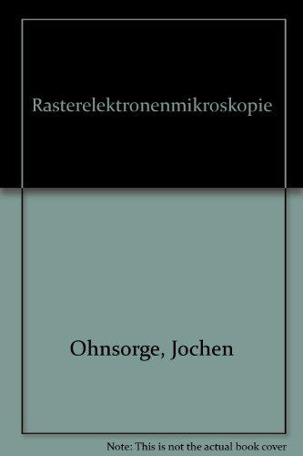 Rasterelektronenmikroskopie