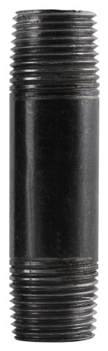 LDR 302 34X12 Pipe Nipple, Black, 3/4-Inch X 12-Inch by LDR Industries