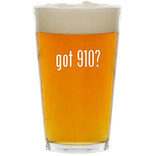 - got 910? - Glass 16oz Beer Pint