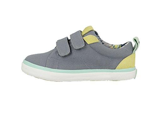 Gioseppo Smith, Zapatillas con Velcro Para Niños Gris