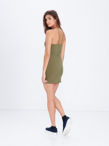 0b1d8e64a1b4e Amazon.com: Young and Reckless - Shay Mini Dress - Olive - - Womens -  Dresses/Rompers -: Clothing