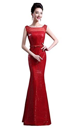 Rot Schlauch Damen Drasawee Drasawee Kleid Damen qXHfStwq