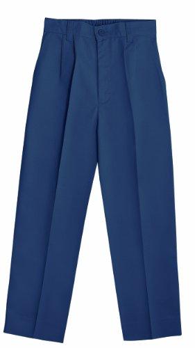 Classroom Big Boys' Uniform Pleated Front Adjustable Waist Pant,Dark Navy,10 ()
