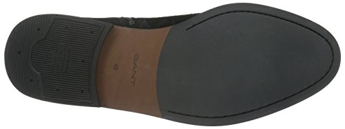 GANT Herren Max Kurzschaft Stiefel, Schwarz (Black G00), 43 EU
