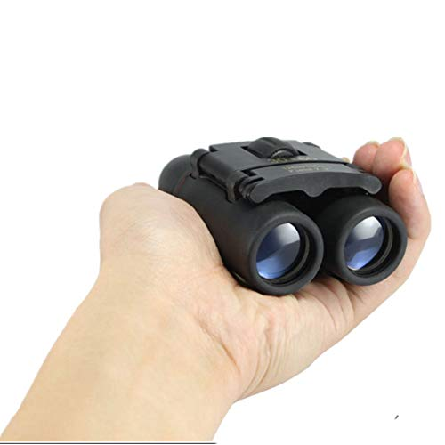 Shiratori 30x60 Small Compact Lightweight Mini Pocket Folding Binoculars Telescope with Low Light Night Vision for Outdoor, Travelling, Sightseeing, Hunting Blue Film