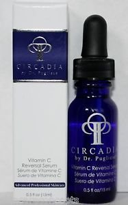 Circadia by Dr. Pugliese Vitamin C Reversal Serum 0.5 fl oz.