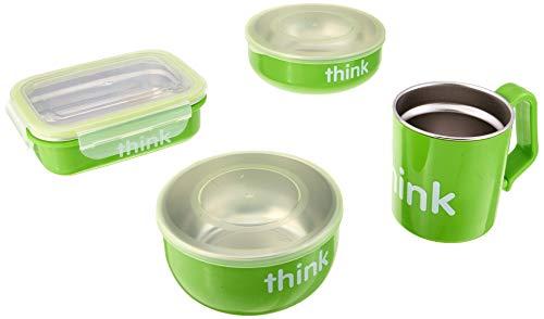 The Complete BPA-Free Feeding Set, Light Green thinkbaby 1 Kit