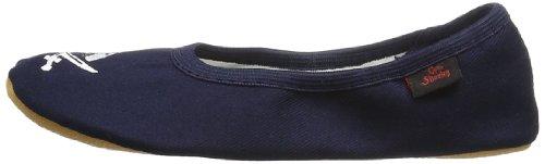 Captn Sharky Justus 140007 - Zapatillas de gimnasia para niño, color azul, talla 31 Azul (Blau (ozean/see 5))
