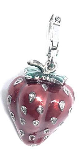 Juicy Couture Rhinestone Seeds Strawberry Charm