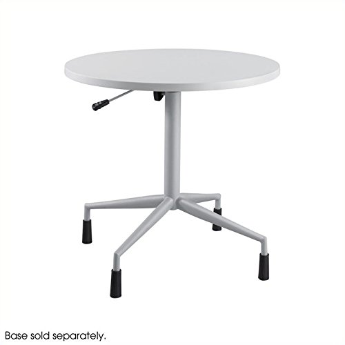 Safco Products 2651GR RSVP  30'' Round Table Top (Base sold separately), Gray by Safco Products