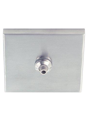 Tech Lighting 700FJ4SQB-LED FreeJack Square Flush Canopy LED, 4
