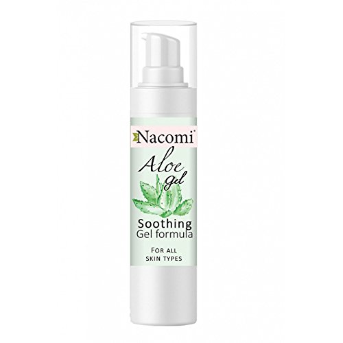 - nacomi Gel Aloe Vera Face Serum for All Types of Leather Anti Acne Allergies 50 ml