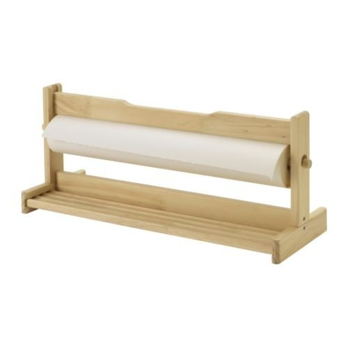 Ikea Soporte de Madera para Rollo de Papel + Rollo 30 MTS ...