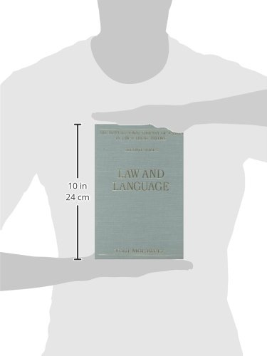 Law and Language (The International Library of Essays in Law and Legal Theory (Second Series)) by Routledge
