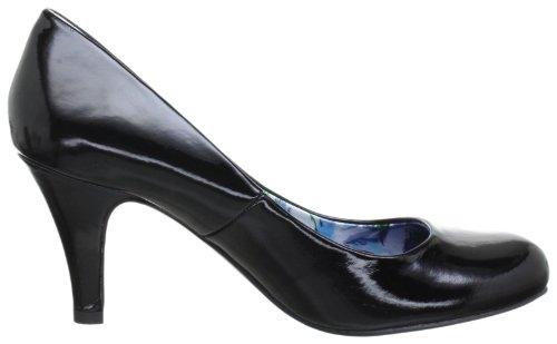 Marco Tozzi 2-2-22429-20 - Zapatos de tacón para mujer Negro (Schwarz (BLACK PATENT 018))