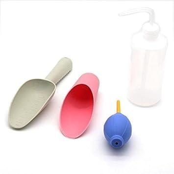 USB plástico Set de paleta Transplantadora/botella/soplador de aire herramientas de jardín/
