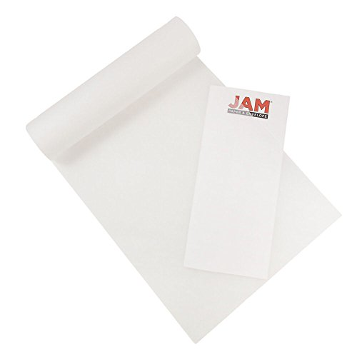 Skin Tissue - JAM PAPER Overlay Tissue Paper Pad - 9 x 12-17lb Onion Skin Paper - 40 Sheets/Pad