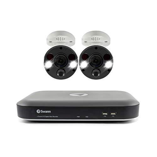 2 Camera 4 Channel 4K Ultra HD Dvr Security System