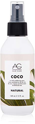 AG Hair Natural Coco Nut Milk Conditioning Spray, 5 Fl Oz