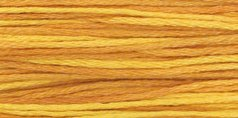 Weeks Dye Works Over-Dyed 6-Strand Embroidery Floss, 5 Yds: Marigold