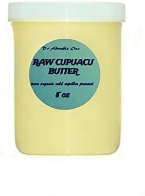8 Oz Pure & Organic Exotic Cupuacu Butter Unrefined Cold Pressed