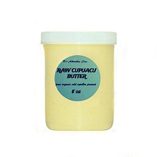 8 Oz Pure & Organic Exotic Cupuacu Butter Unrefined Cold ()