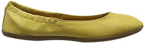 Yellow Mujer Amarillo para Softinos Bailarinas Ona380SOF FqXnf