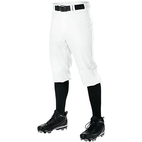 AllesonアスレチックメンズKnicker Proワープニット野球パンツ B00I7TAFAQ M|ホワイト ホワイト M
