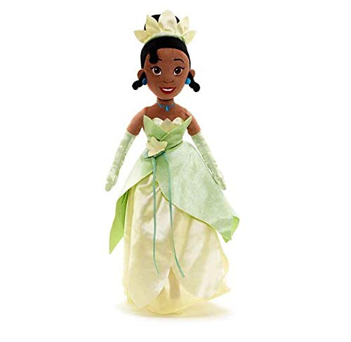 (Offcial Disney The Princess and The Frog 52cm Tiana Soft Toy Doll)
