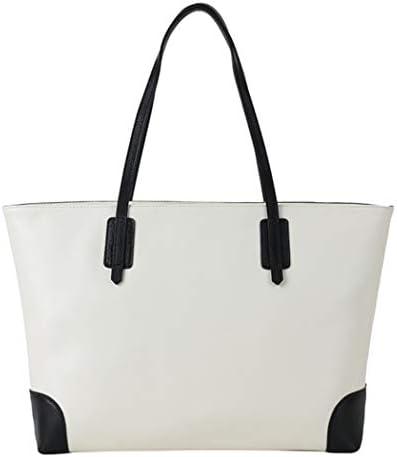 女性のショルダーバッグ、ファッショナブルなレザーシンプルでスタイリッシュ色のマッチング女性のハンドバッグ、仕事/ショッピング/旅行クロスボディ女性バッグを魅力的