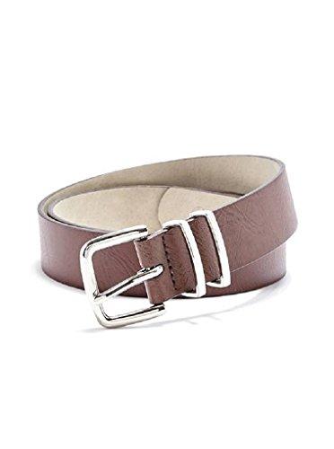 GUESS Women's Logo Plaque Belt