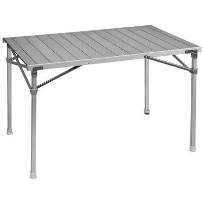 Brunner Campingbedarf Alu-Rolltisch Titanium Quadra 4, 31518