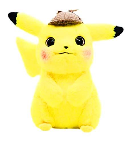 Amazon.com: Detective Pikachu Pokémon Peluche peluche animal ...
