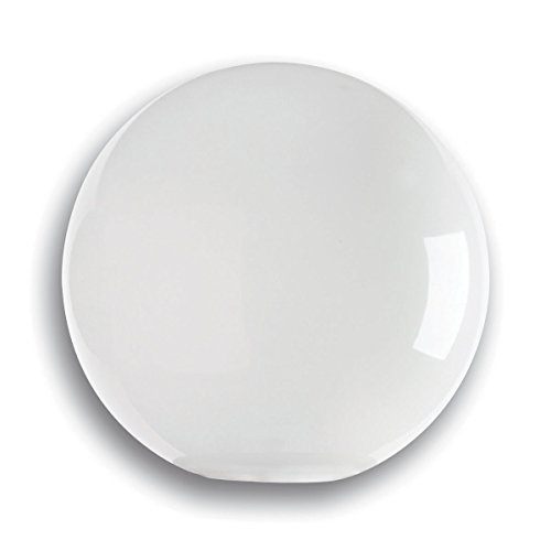 Polycarbonate Light Globes - Solo Lights 12 Inch Polycarbonate White globe. Neckless Globe with 5.25 Opening.