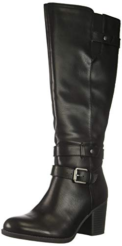 Taliah Mid Calf Boot Black 10 M US ()