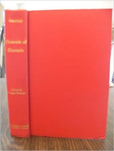 Spanische E-Books herunterladen Elements of Rhetoric by Richard Whately PDF CHM ePub