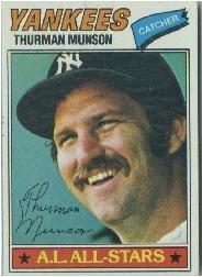 1977 Topps Baseball Card #170 Thurman Munson Near Mint/Mint