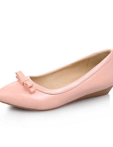 cn35 Soporte rosa punta Toe Flats zapatos eu36 de us5 PDX talón vestido verde blanco carrera la Toe de mujer 5 fuchsia casual uk3 oficina negro y coral cerrado 5 wH0dIfq