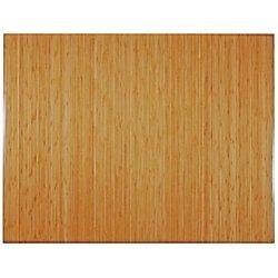 - Anji Mountain Bamboo Tri-Fold Plush Chair Mat, 47