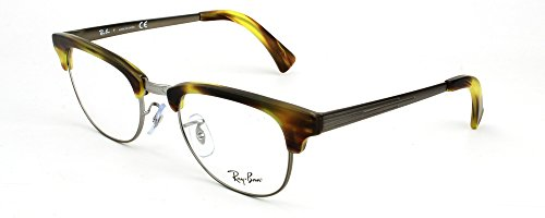 Ray-Ban RX5294 Clubmaster Eyeglasses-5430 Green - Prescription Ray Tortoise Ban Clubmaster