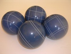 Premium Quality EPCO 4 Ball Set with blue bocce balls [Misc.] by Epco