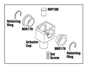Actuator Cap Kit MIK189