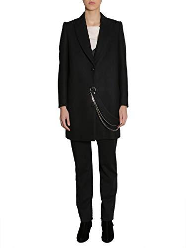 LANVIN Women's Rwco102k3613a1710 Black Wool Trench Coat ()