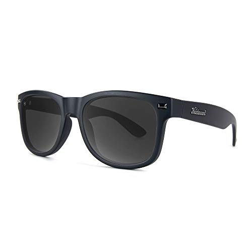 Knockaround Fort Knocks Polarized Sunglasses, Black on ()