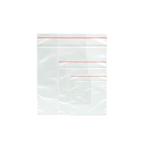 4' 4 Mil Zip Lock (Resealable Poly Bags – Small Plastic Ziplock Baggies - Bulk Self Sealing Bags – Reclosable Bags for Craft Storage or Shipping - Value Pack of 290pcs - 2x3in 100pcs + 4x6in 90pcs + 3x4in 100pcs - Clear)