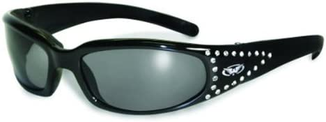 One Size Global Vision Womens Marilyn 3 Sunglasses with Smoke Lens UV 400 Protection