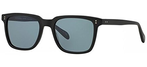 Oliver Peoples Eyewear Men's NDG Sunglasses, Noir/Indigo Photochromic, Black, Blue, One Size (Peoples Oliver Sunglasses)