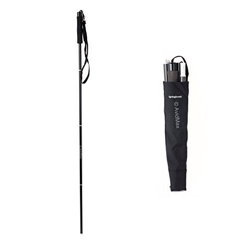 Springbrook WSA Folding Aluminum Wading Staff W/Camera Mount Fly Fishing Walking by Temple Fork Outfitters