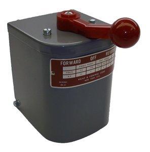 1.5 hp - 2 hp Electric Motor Reversing Drum Switch - Posi...
