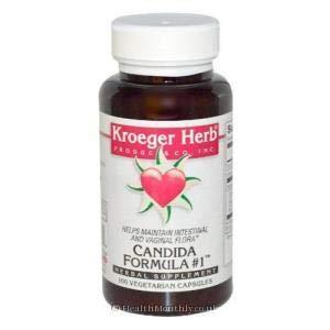 Kroeger Herb Candida Formula #1 100 Vcap